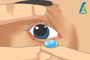 7 نحوه استفاده از لنز تماسی چشم