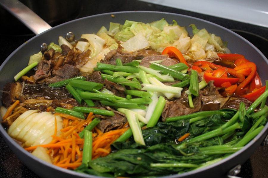 13 تهیه انواع خوراک سبزیجات