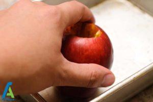 7 طرز تهیه سیب کبابی