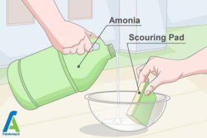 8 تمیز کردن سطح نیکل فلزات
