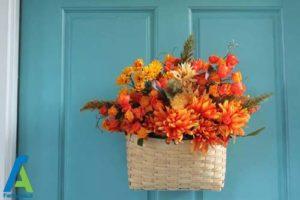 15 طراحی و تزئین ورودی منزل به سبک پاییزی