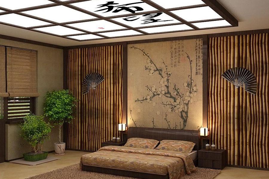 13 طراحی دکوراسیون اتاق خواب به سبک ژاپنی