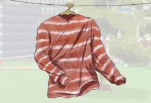 Photo of چگونه با زنگ آهن، روی لباس طرح و رنگ ایجاد کنیم؟