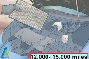14 تمیز کردن یا تعویض فیلتر هوا