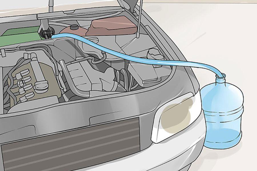 12 پاکسازی رادیاتور بخاری