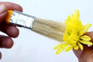 10 خشک کردن گل ها