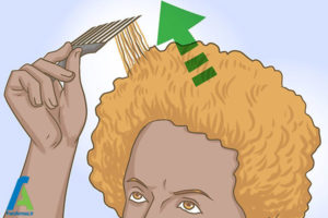13 نگهداری و حالت دادن موی افرو