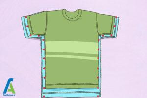 16 تغییر سایز پیراهن گشاد