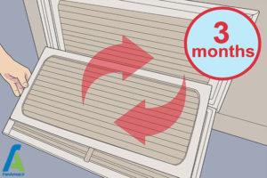 15 تمیز کردن یا تعویض فیلتر هوا