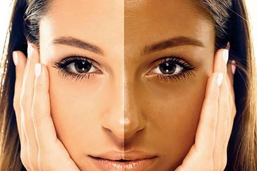 10 برنزه کردن پوست