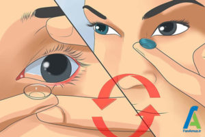 8 نحوه استفاده از لنز تماسی چشم