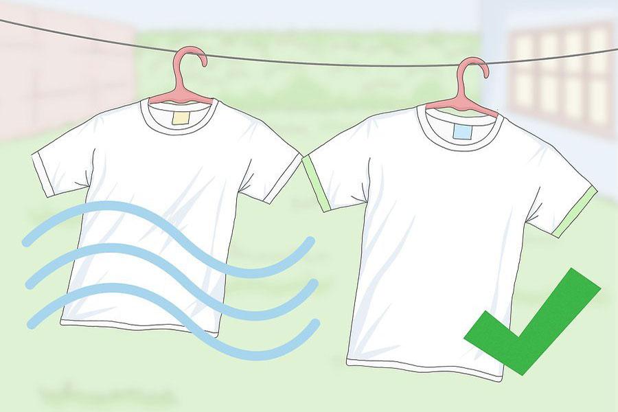 شستشوی بدون لک لباسشویی تمیز شدن لباس
