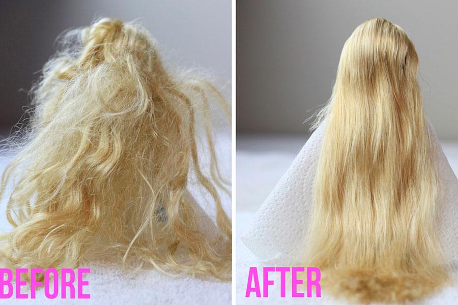 15 شستن موهای عروسک