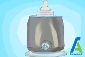 11 نحوه گرم کردن شیر مادر