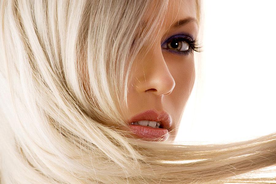 10 دکلره کردن موهای قهوه ای