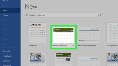 Photo of چگونه در نرم افزار Word یک تقویم ایجاد کنیم؟