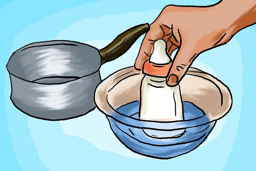 12 نحوه گرم کردن شیر مادر