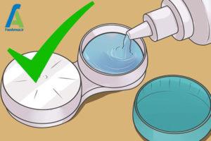 9 نحوه استفاده از لنز تماسی چشم