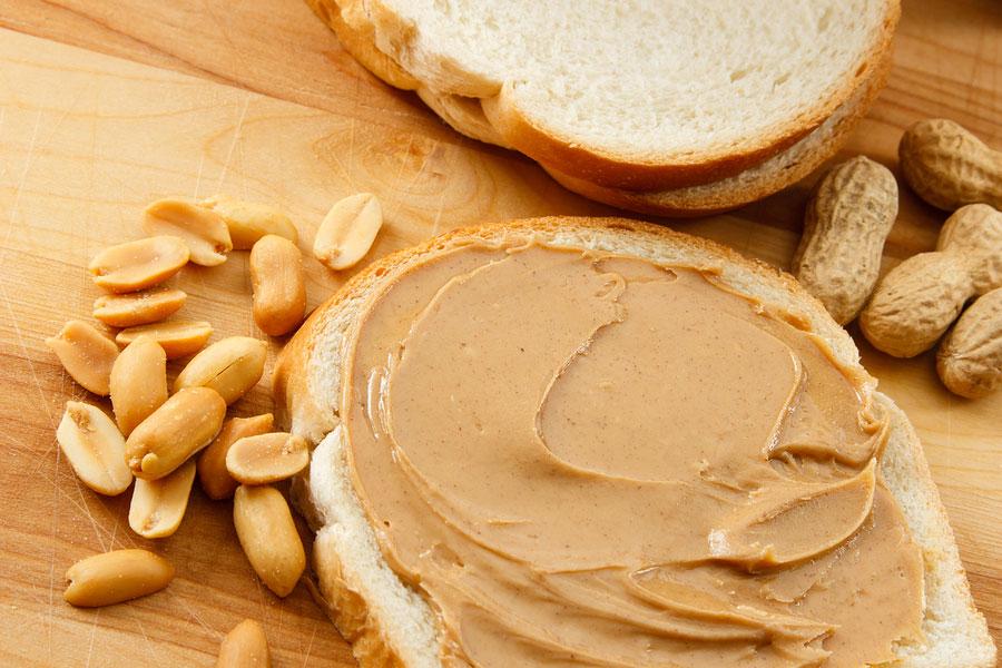 2 مصرف کره بادام زمینی