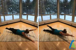 2 تمرینات ساده ورزشی