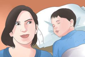 1 بی خوابی کودک ناشی از عفونت گوش