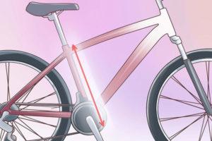 2 تعیین سایز دوچرخه متناسب با خود