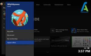 1 لغو نمایش وضعیت آنلاینی Xbox1