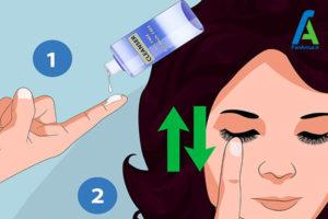 1 تمیز کردن اکستنشن مژه مصنوعی