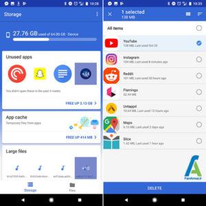 2 اپلیکیشن مدیریت فایل گوگل