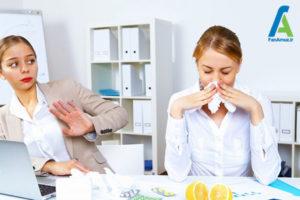 2 پیشگیری از انتقال بیماری در محیط کار