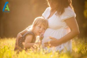 2 بارداری با عمل IVF