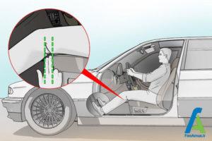 2 تنظیم صحیح صندلی ماشین