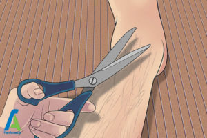 1 شیو کردن پا در مردان