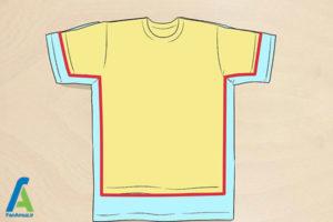 2 تغییر سایز پیراهن گشاد