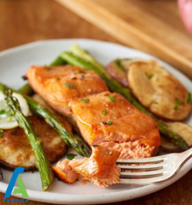 2 اصول پخت ماهی سالمون