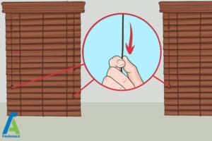 1 تمیز کردن پرده کرکره چوبی