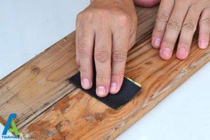 2 طراحی روی چوب با اکلیل