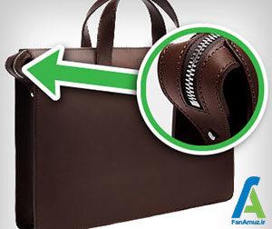 2 اصول انتخاب کیف چرم مردانه