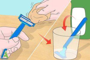 2 ضدعفونی و تمیز کردن ژیلت برای استفاده مجدد
