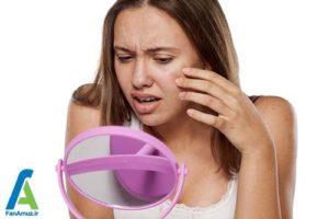2 متعادل کردن و تنظیم PH پوست صورت