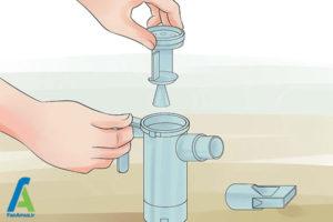 1 نحوه تمیز کردن دستگاه نبولایزر
