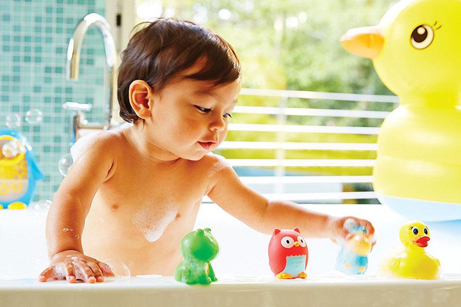 10 اسباب بازی حمام کودکان