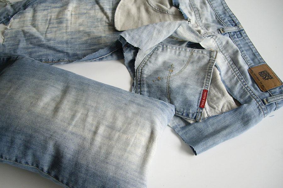 24 درست کردن بالش با لباس های کهنه