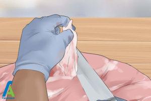 22 جدا کردن پوست گوزن بعد از ذبح