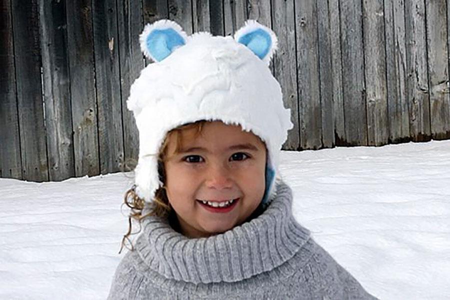 25 دوخت کلاه خزدار زمستانی بچه گانه