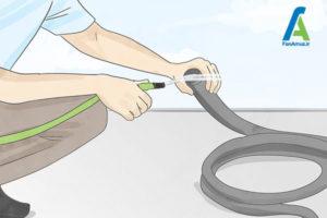 2 نحوه تمیز کردن بخارشوی