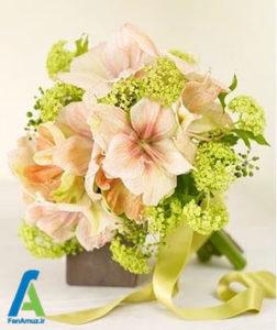 3 گلهای مناسب دسته گل صورتی