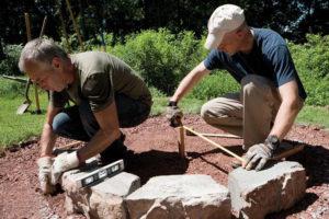 2 ساخت منقل در حیاط