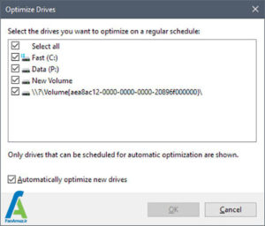 3 غیرفعالسازی بهینه ساز درایو ویندوز 10