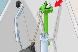 3 نحوه تعویض و تعمیر فلش تانک و سیفون توالت